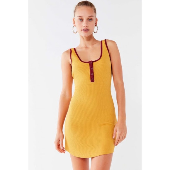 URBAN OUTFITTERS Thermal Tank Dress - Size SMALL